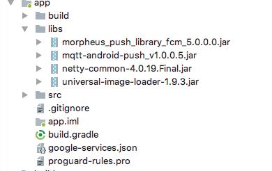 Push for FCM — Morpheus Lastest documentation